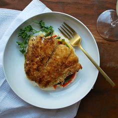 Ritz Cracker-Crusted Bluefish