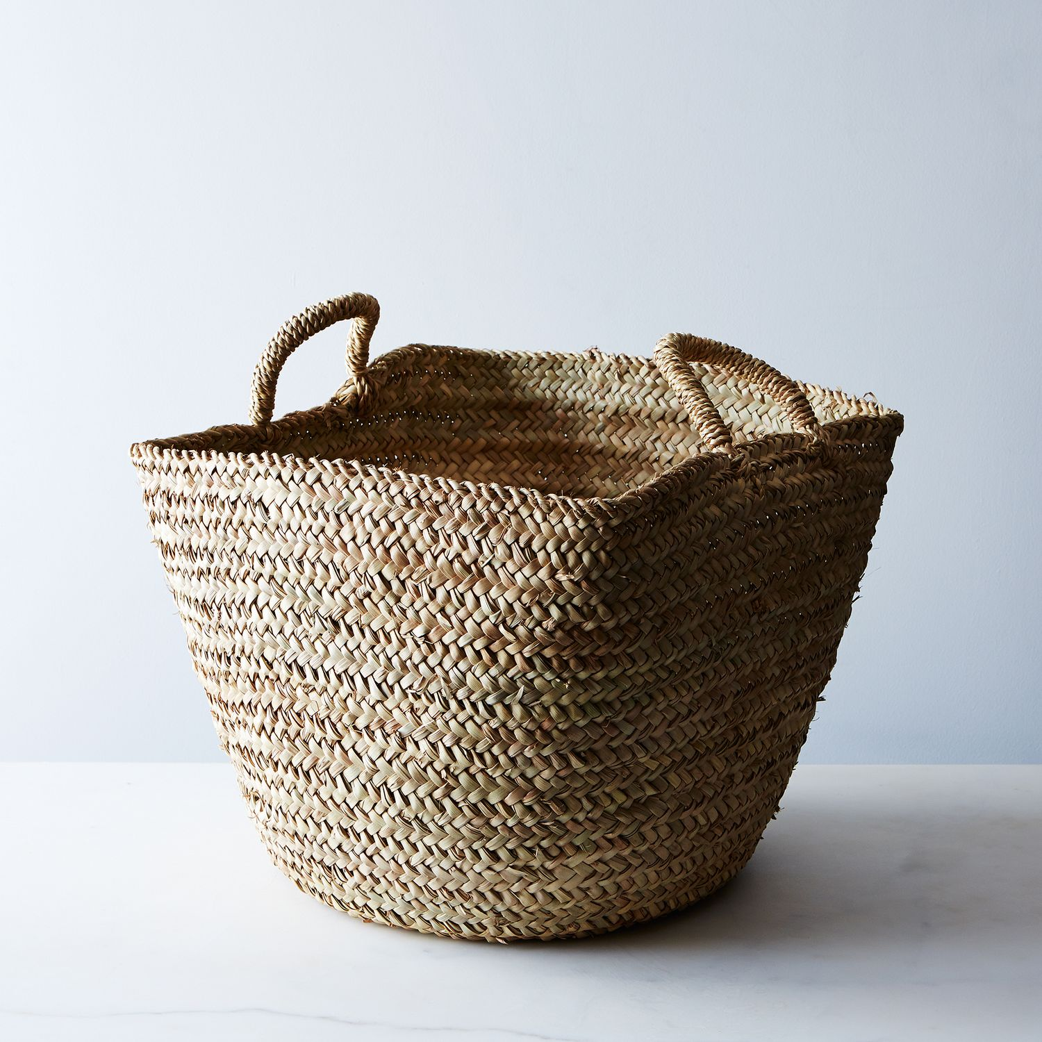 Handwoven Moroccan Basket On Food52