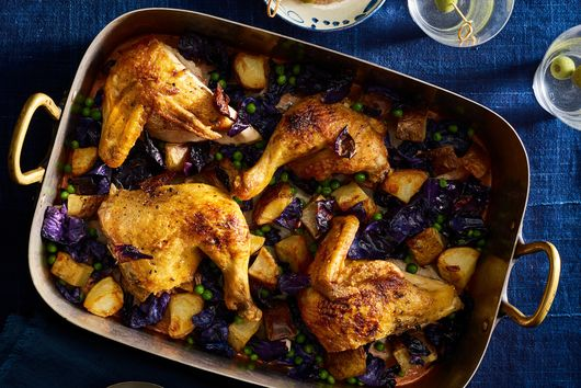 Roast Chicken with All of the Vegetables in Your CSA