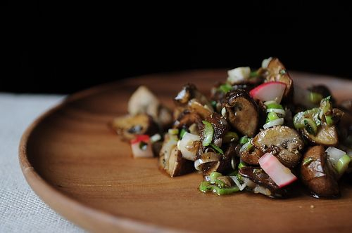 Meg's Marinated Mushrooms