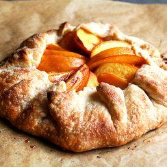 Peach Frangipane Galette