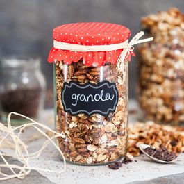 Dark Chocolate Breakfast Granola