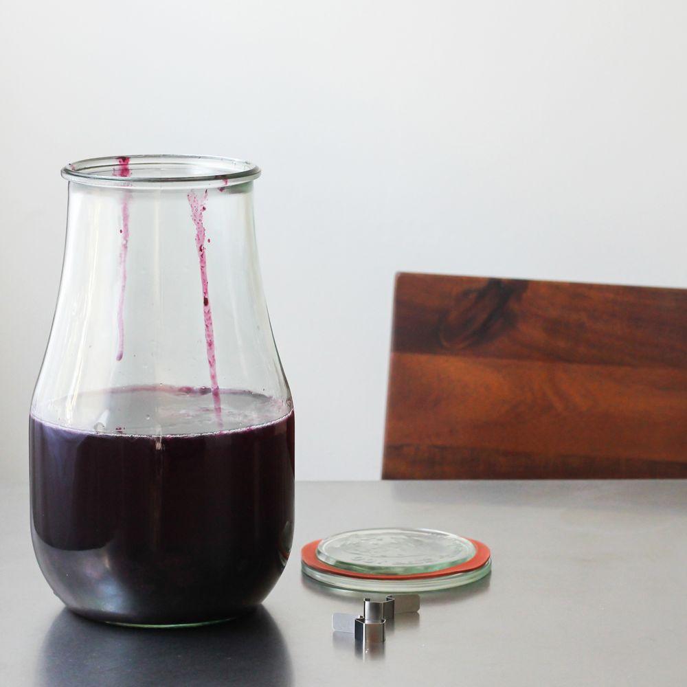 Blueberry Basil Infused Vodka Recipe On Food52