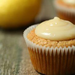 Vegan Coconut Lemon Curd Cakes