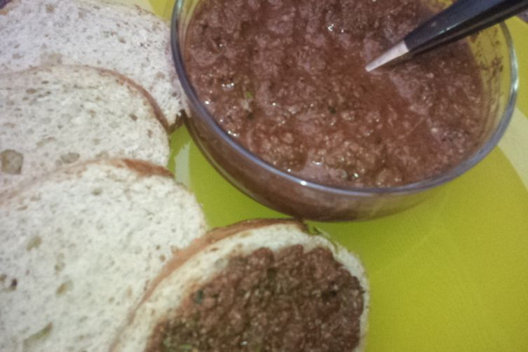 Pepper & Parsley Spread, Dip or Sauce