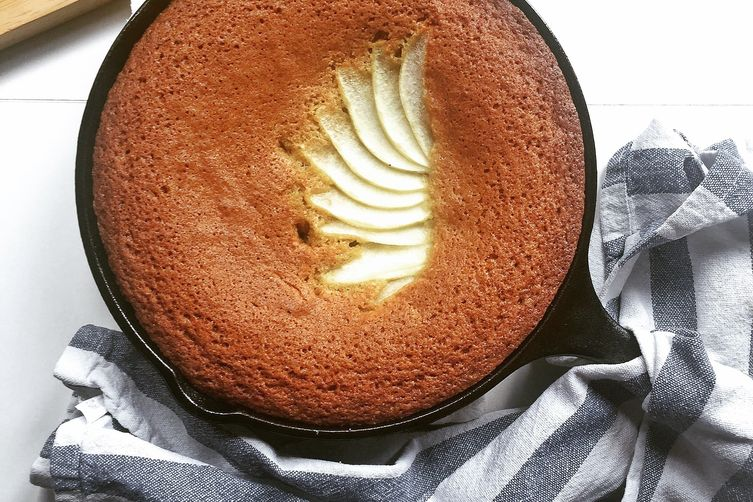 Brown Butter Skillet Cake