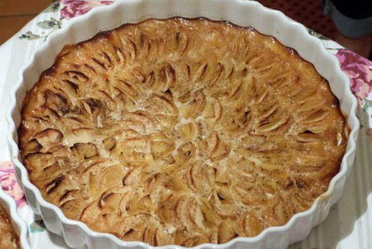 Vanilla Apple & Potato Tart