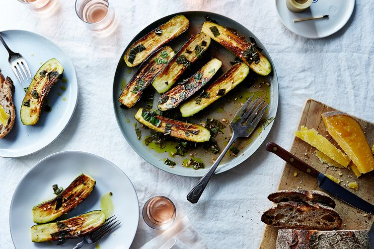 canal house s marinated zucchini