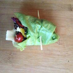 Quinoa Lettuce Wraps