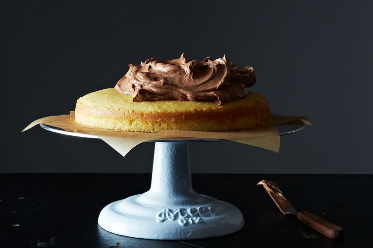 Whipped Chocolate Caramel Ganache
