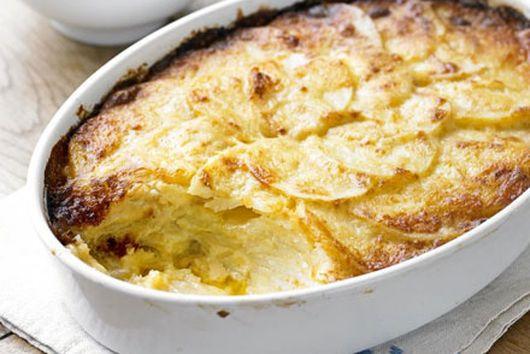 Horseradish Potatoes Dauphinoise