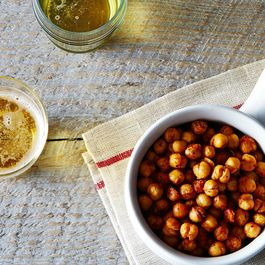 Toasty Roasted Chickpeas, Cajun Style