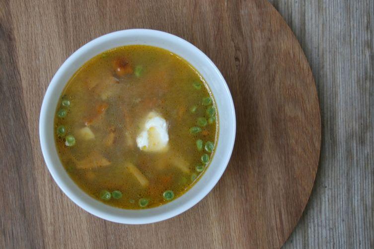 Farmer's Mushrooms Soup