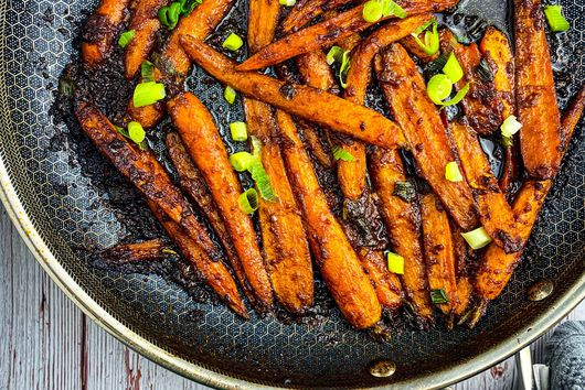 Brown Butter Miso Glazed Carrots