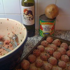 Meatballs with Currants and Pine Nuts