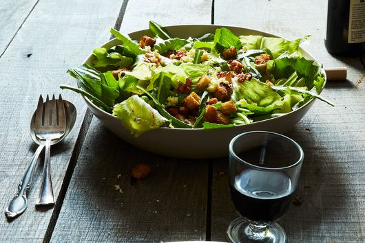 A Salad You'll Want to Cuddle Up With (Thanks to Eggs, Bacon & Bitter Greens)