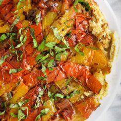 Heirloom Tomato Tatin