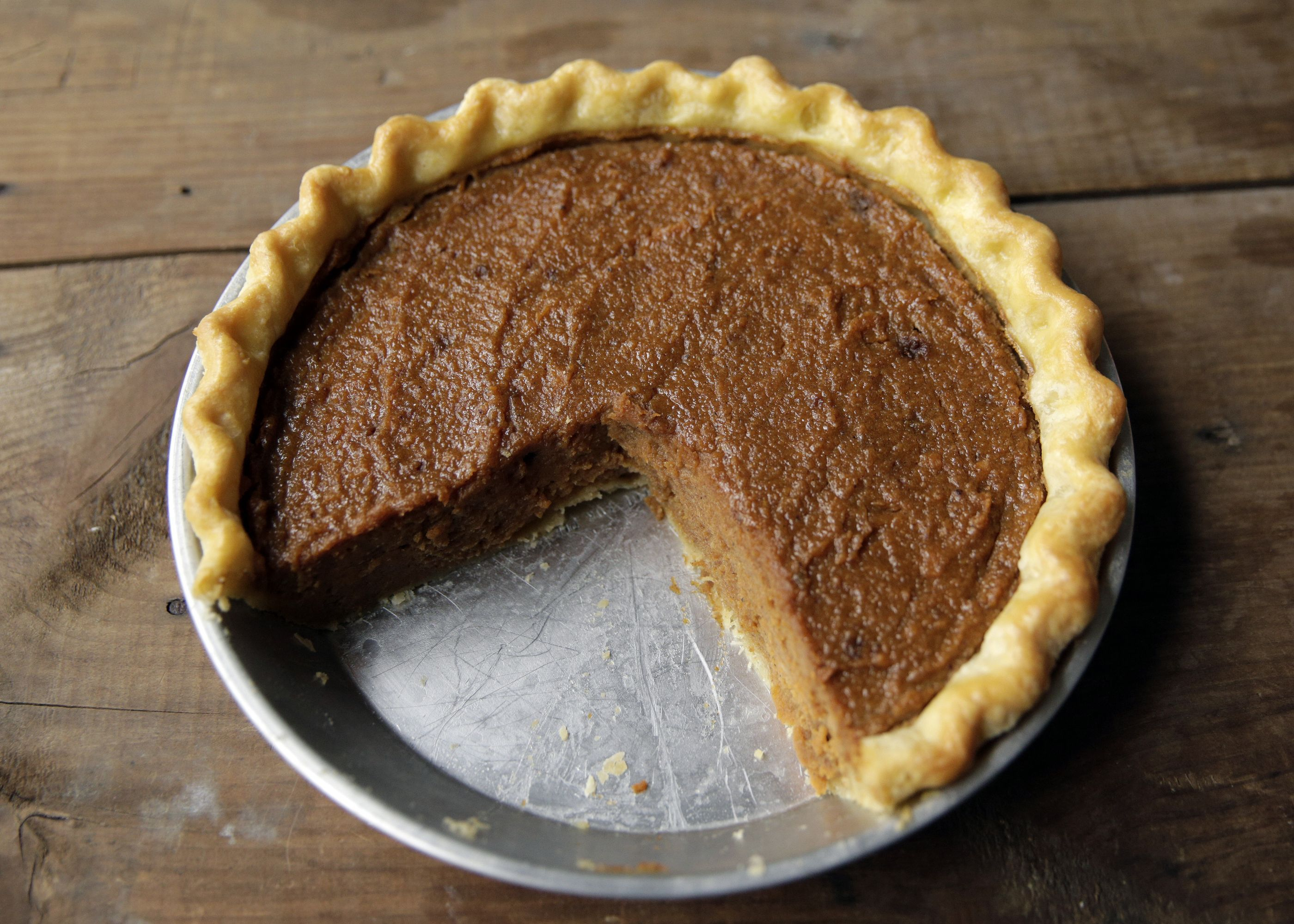 Sweet Potato Buttermilk Pie Recipe — Dishmaps