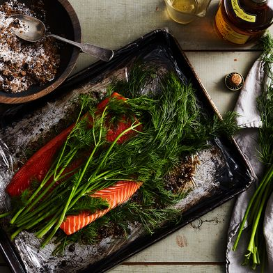 Cure Your Salmon in Whisky, Be Transported to Scotland