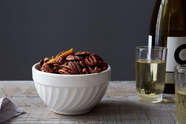 Citrusy Herbes de Provence Pecans