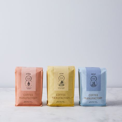 Coffee Manufactory Whole Bean Single Origin Coffee (2-Pack)