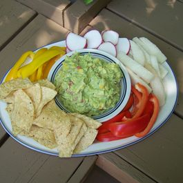 Roasted Corn and Cumin Guacamole