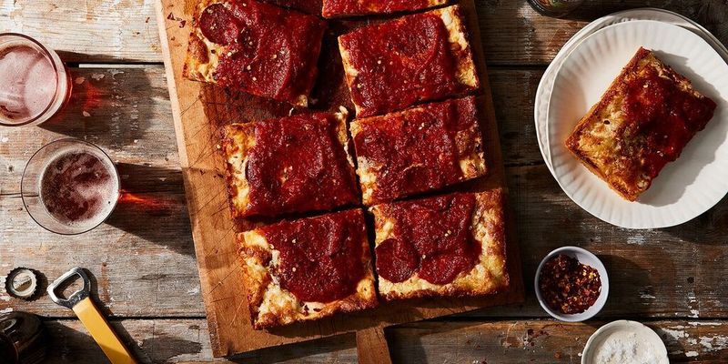 You'll be fighting over the corner slices