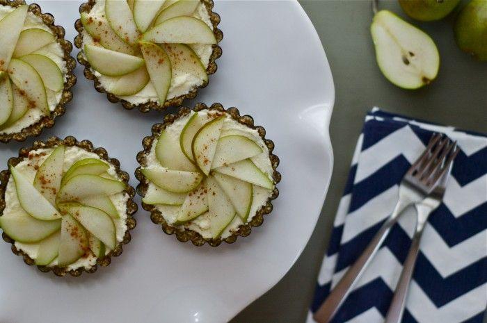 Raw Pear Tarts