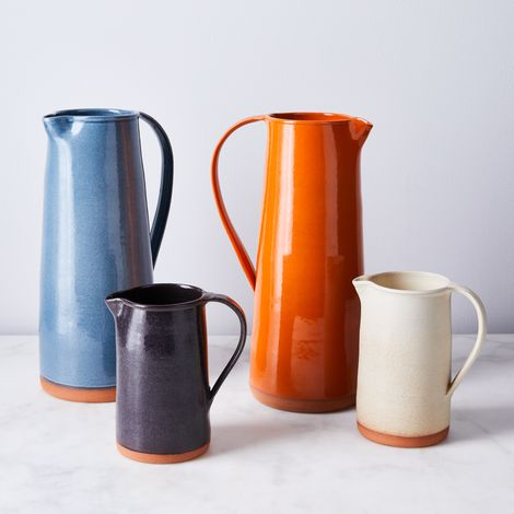 Handthrown Rustic Ceramic Pitcher