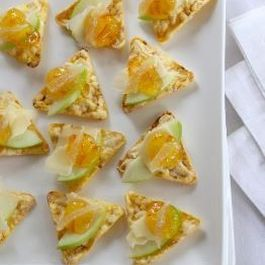 Sliced Pear And Cheddar Feel-Good PopCorners Topper