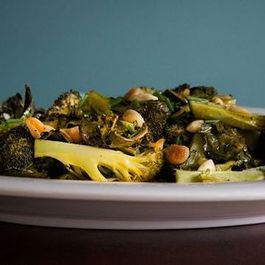 Dinner Tonight: Drunken Clams + Mustardy Roasted Broccoli
