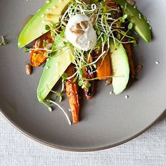 Dinner Tonight: Finger-Lickin' Finger Lakes Chicken + Carrot Avocado Salad