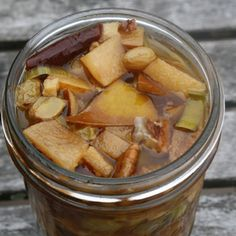 Spicy Lacto-fermented Pear Chutney