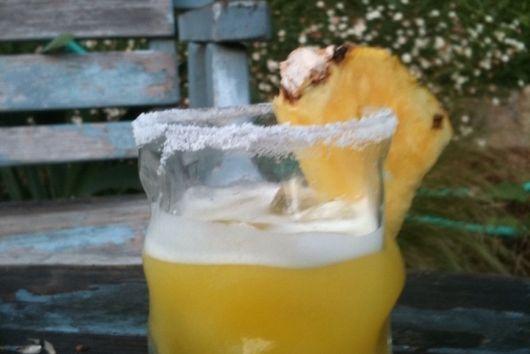 Pineapple-Serrano Margarita
