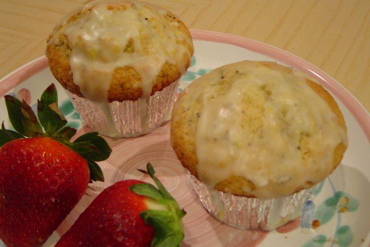 Lemon Lemon Poppy Seed Muffins