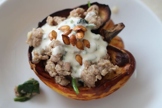 Showstopper Stuffed Squash