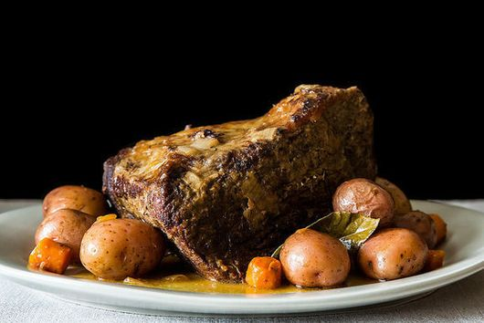 Betty Wason's Pot Roast (+ Slow-Cooker Variation from My Mother)