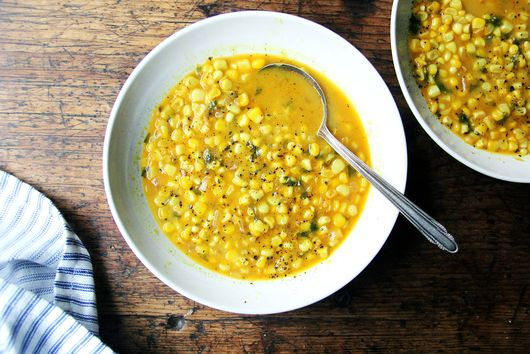 Curried Coconut Corn Soup
