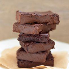 Chocolate Fudge Eggplant (Aubergine) Brownies