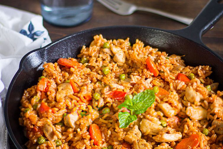 One Pot Chicken Rice Dinner in 5 Easy Steps