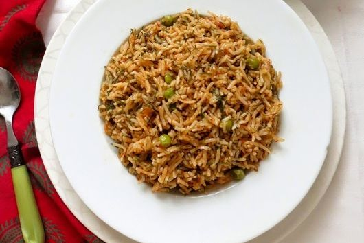 Dill and Pea Pilaf