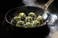 "Instead of Throwing Away Your Greens, Make Them into ""Meatballs"""