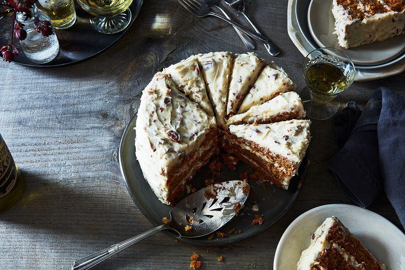 Neva Tee's Carrot Cake