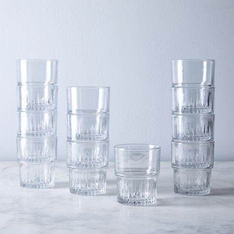 French Empilable Tumblers (Set of 12)