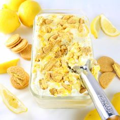 Lemon Oreo Ice Cream