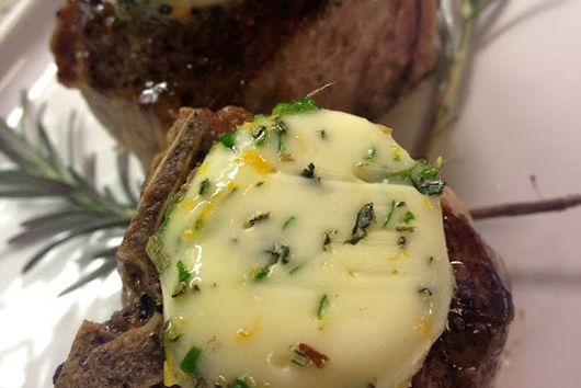 Meyer Lemon Herb Butter for Lamb