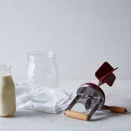 Glass Butter Churner