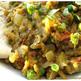 Indian Spiced Eggplant (Baingan Bharta)