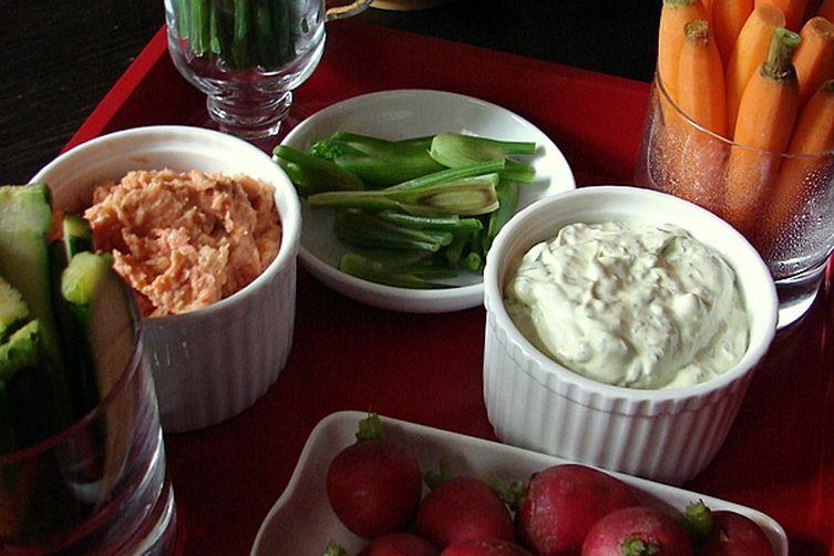 White Bean + Sundried Tomato Dip