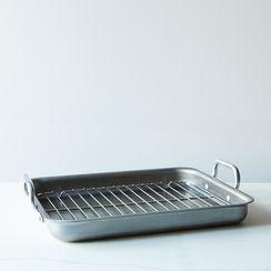 Low-Edged Iron Roasting Pan